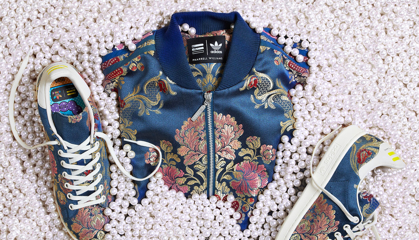 T shirt Adidas Stan Smith Hoodie Adidas Originals, flower